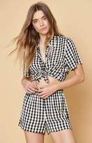 KENDALL + KYLIE Kendall & Kylie Short Sleeve Button-Down Top
