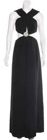Christopher Kane Resort 2015 Cutout Evening Gown
