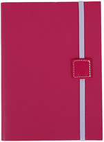 Undercover Recycled Leather Notebook Lined - Lipstick - Midi