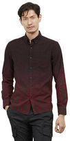 Kenneth Cole Dip Dye Button Front Shirt