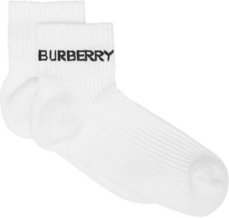Burberry Logo-Intarsia Ankle Socks