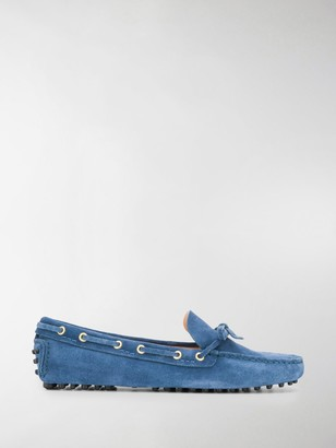 Car Shoe Denim-Effect Boat Shoes