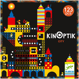 Djeco Multicoloured Town Kinoptik Game