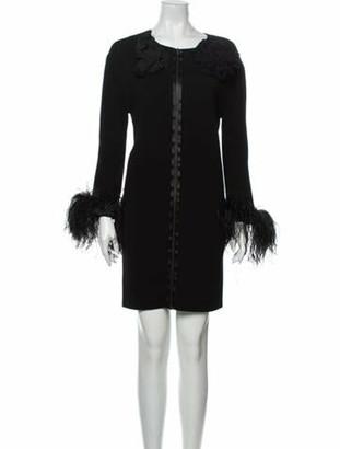 Lanvin 2011 Mini Dress Wool