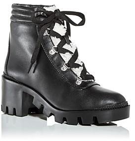 Aqua Women's Gilca Block Heel Booties