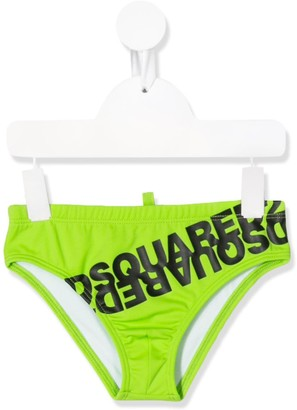 DSQUARED2 Logo Printed Swimming Trunks