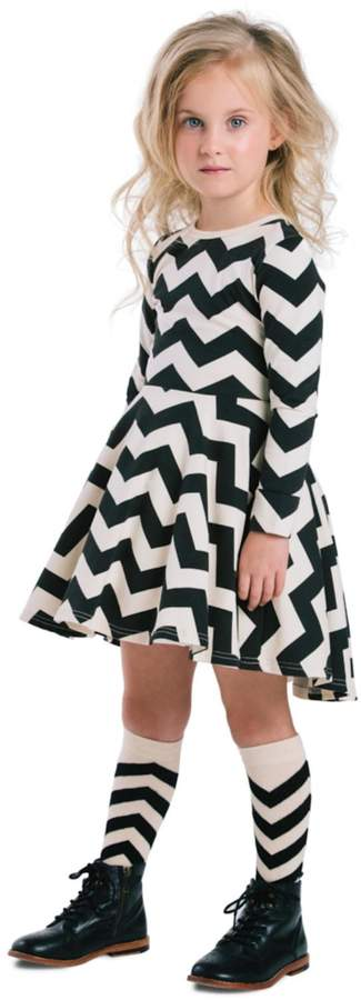 Rock Your Baby Zig Zag Dress