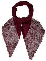 Chanel Cashmere & Silk CC Shawl