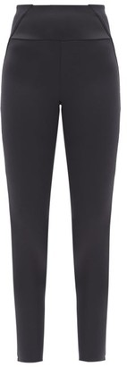 Vaara Kari Panelled Stretch-jersey Leggings - Black