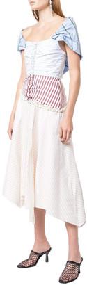 Rosie Assoulin Off Shoulder Dress