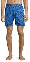 Peter Millar The Great Waves Swim Trunks, Royal Blue