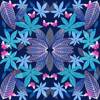 Amanda West Giclee Print - Persian Leaf
