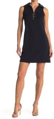 Tash + Sophie Zipper Front Shift Dress