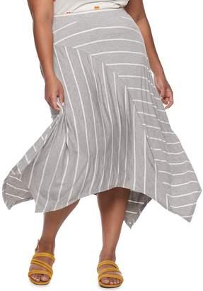 Juniors' SO Panelled Midi Skirt