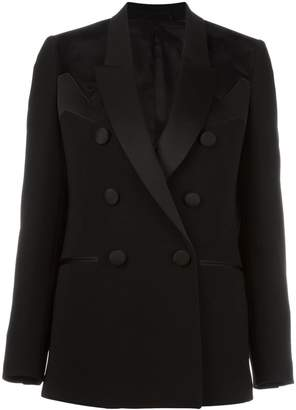 Neil Barrett geometric panel insert blazer