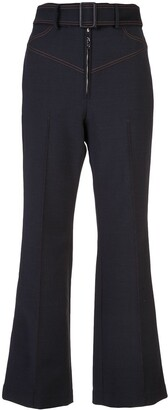 Ellery Flared Belted Trousers