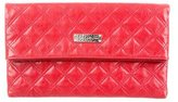 Marc Jacobs Quilted Leather Flap Clutch