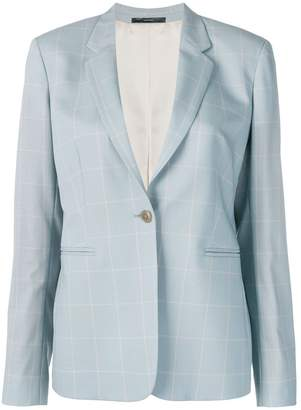 Paul Smith single breasted check blazer
