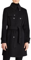 Lauren Ralph Lauren Women's Wool Blend Trench Coat