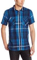 Levi's Men's Prow Short-Sleeve Crepe Weave Shirt