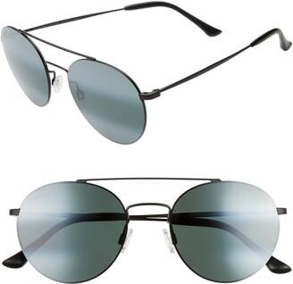 Maui Jim Pele's Hair 53mm PolarizedPlus2(R) Round Flat Front Sunglasses