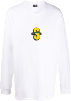 Stussy Coorp ls long-sleeved T-shirt