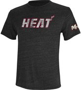 adidas Miami Heat Team Short Sleeve Performance Tee