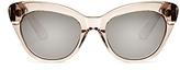Elizabeth and James Vale Mirrored Cat Eye Sunglasses, 51mm