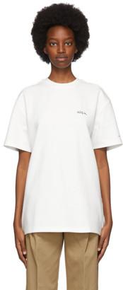 Ader Error White Calli T-Shirt