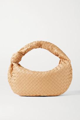 Bottega Veneta Jodie Small Knotted Intrecciato Leather Tote - Beige