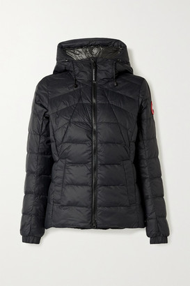 Canada Goose Abbott Hooded Quilted Shell Down Jacket - Black