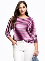 Old Navy Semi-Fitted Plus-Size Crew-Neck Tee
