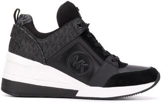 MICHAEL Michael Kors Embossed Logo Sneakers