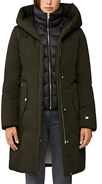 Soia & Kyo Annalise Hooded Down Coat