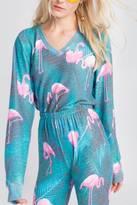 Wildfox Couture Flamingo Sweatshirt