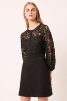 French Connenction Shema Lace Button Dress