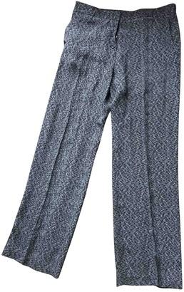 Golden Goose Black Silk Trousers