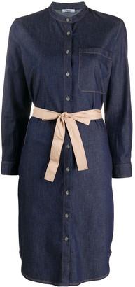 Peserico denim shirt dress