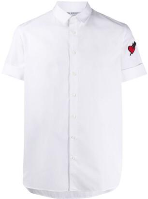 Neil Barrett Heart Patch Shirt
