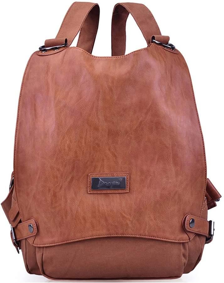 3dc08939cdf08 JOSEKO Ladies Large Capacity Travel Bag Casual Vintage School Bag Black  Canvas Women Backpack Luggage