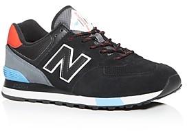 New Balance Men's 574 Suede Low-Top Sneakers