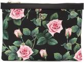 Dolce & Gabbana Floral pouch