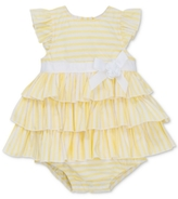 Little Me Striped Skirted Cotton Romper, Baby Girls (0-24 months)