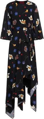 SOLACE London Darline Voile Wrap Dress