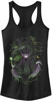 Disney Juniors' Disney's Sleeping Beauty Maleficent Manga Art Tank Top