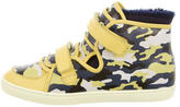 Dolce & Gabbana Boys' Camouflage High-Top Sneakers w/ Tags