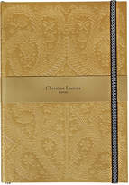 Christian Lacroix Paseo Embossed Notebook - Gold - B5