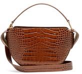 Wandler Yara Crocodile-effect Leather Bag - Womens - Tan