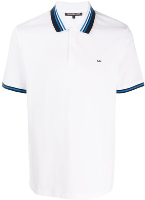 Michael Kors Contrasting Collar Polo Shirt