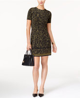 MICHAEL Michael Kors Leopard-Print T-Shirt Dress, a Macy's Exclusive Style